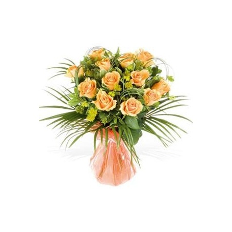 Long Stem Orange Roses