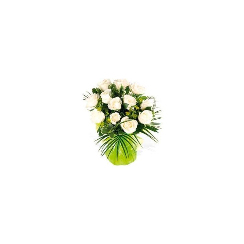 Long Stem White Roses Flowers And Gifts Uganda