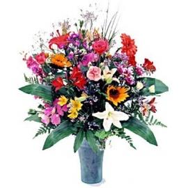 Pot Au Fleurs Pot of Flowers