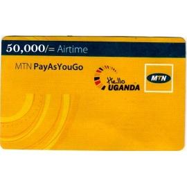 50000 MTN Voucher Uganda