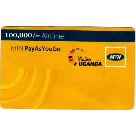 100000  MTN Voucher Uganda