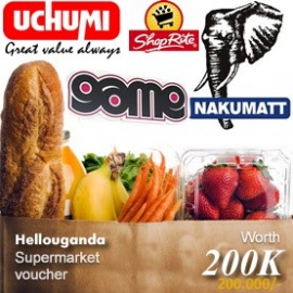 Family Supermarket Voucher 200,000 UGX