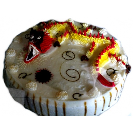 The Dragon Birthday cake