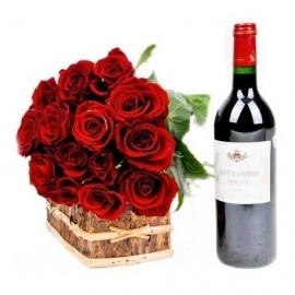Noble Pack of Wine Roses