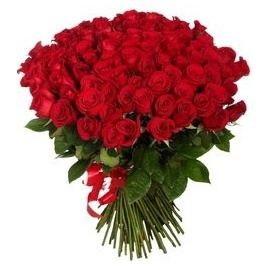 80 Red Roses Bouquet